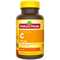 Nature Made Chewable Vitamin C 500 mg Tablets, 70 Count to Help Support the Immune System?