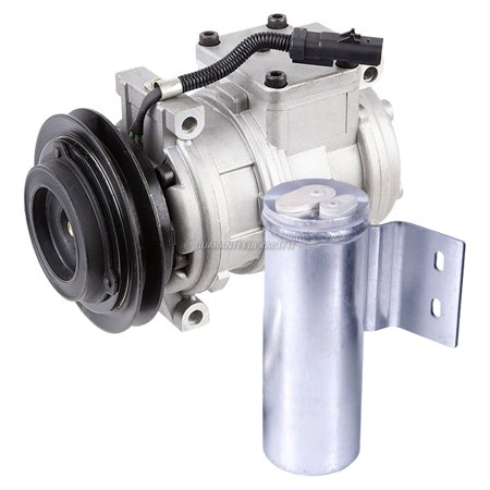 AC Compressor Clutch With A/C Drier For Dodge Caravan Plymouth Voyager 1996