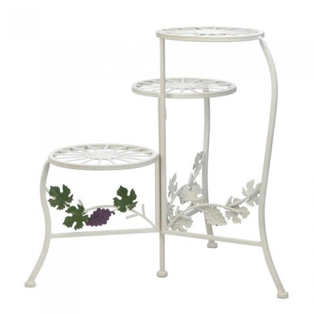 COUNTRY GRAPE PLANT STAND (Grape Stand)