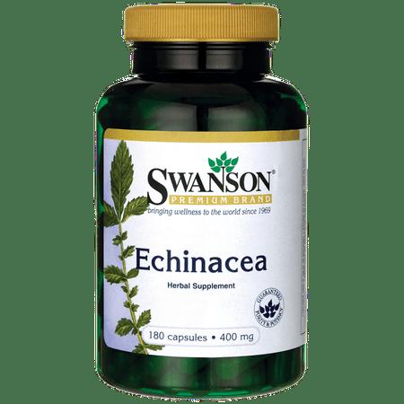 Swanson Echinacea 400 mg 180 Capsules