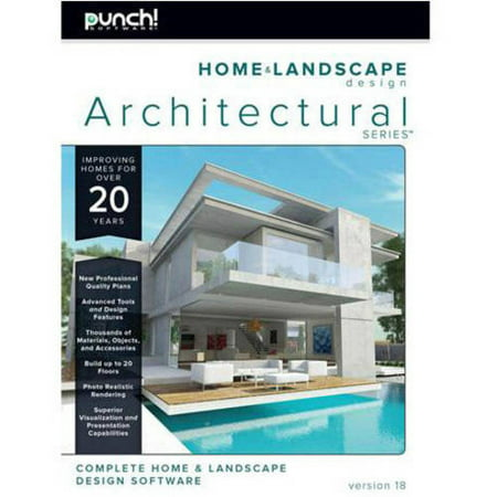 - WD Encore 8130545 Punch Home Landscape Architectural V18 (Email Delivery)