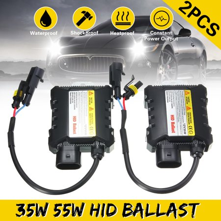 Universal Xenon HID Ballast Replacement Conversion Kit 35W/55W Digital Ballast DC12V For H1 H3 H4 H7 Light Bulb H10 - Universal Magnetic Ballast