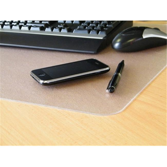 Desktex FPDE1924R2 Polycarbonate Smooth Back Desk Mat Rectangular Shaped 19 X 24 inch