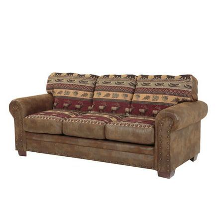 American Furniture Clics Sierra Lodge Sleeper Sofa