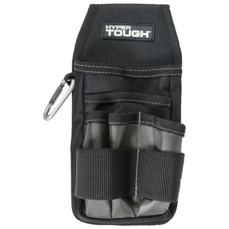 Hyper Tough 10 Pkt. Tool Pouch, Oil Tanned Leather 870-CC ()