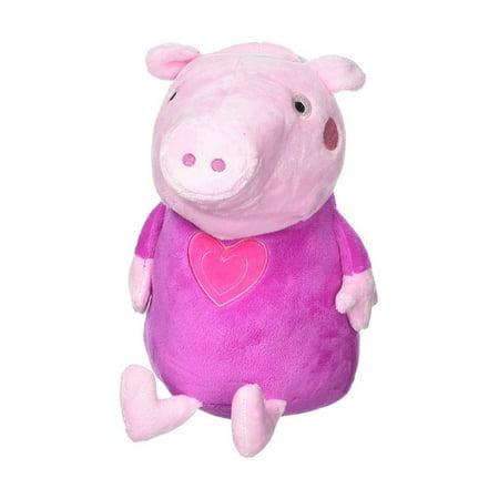 FAB Nick Jr Peppa Pig Pink Plush Bank Novelty Character Home - Nick Jr Characters