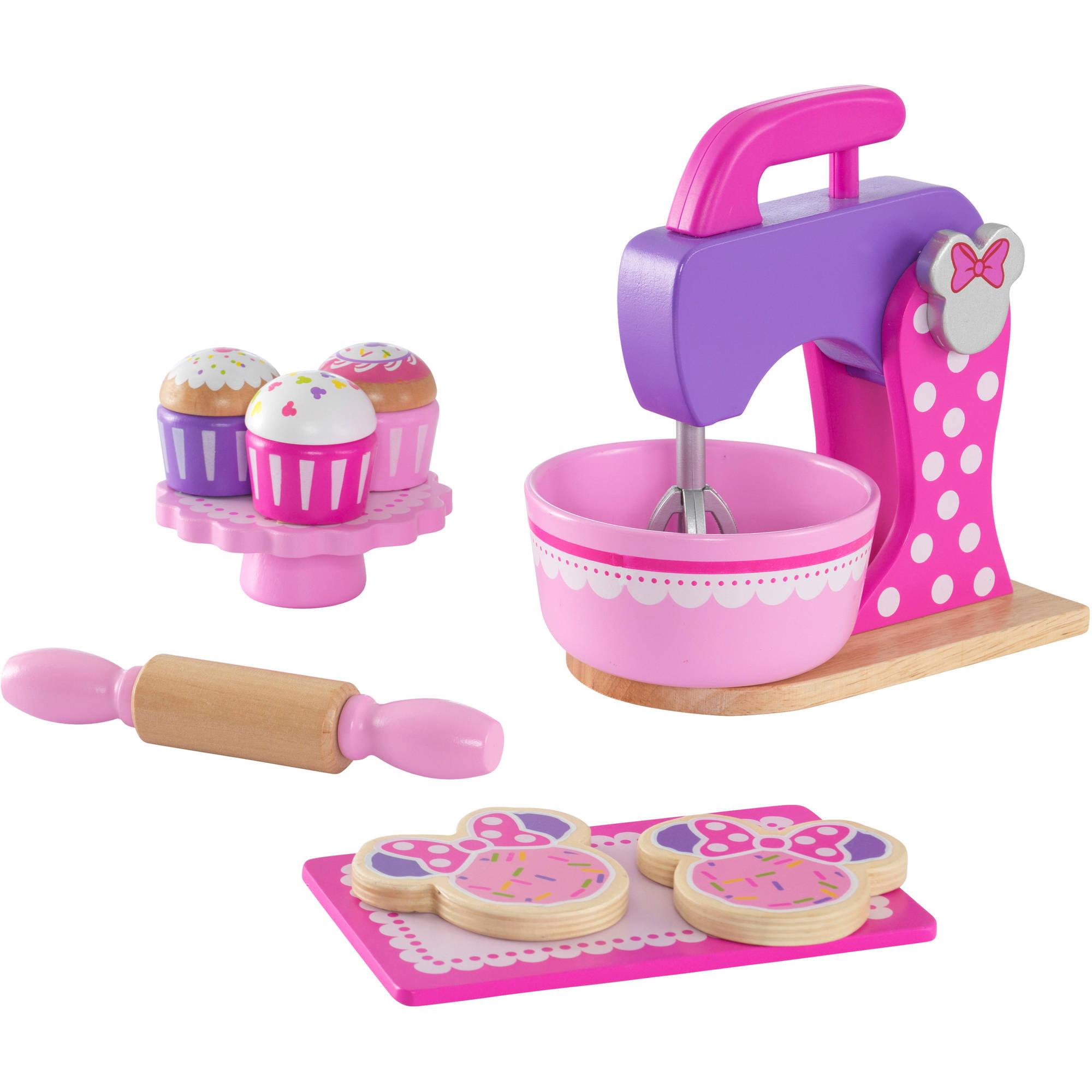 Deluxe Minnie Mouse Baking Set + Treats, Pink by KidKraft by KidKraft