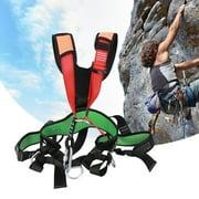 Brrnoo Rock Climbing Waist Support Outdoor Sports Rock Climbing Harness Waist Support High Strength Wearable Safety Belt