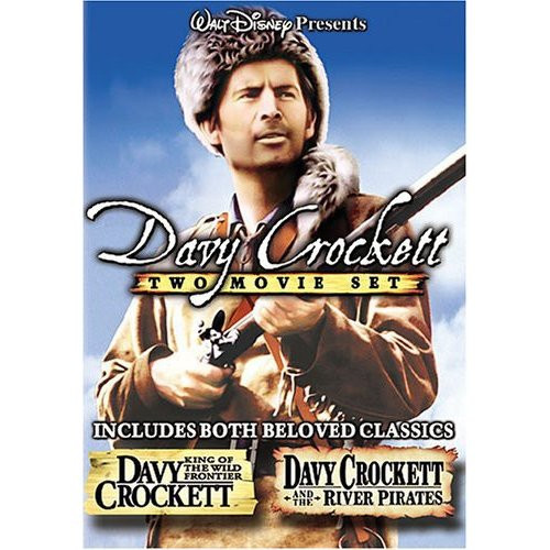 Davy Crockett Two Movie Set: Davy Crockett - King Of The Wild Frontier / Davy Crocket And The River Pirates (Full Frame)