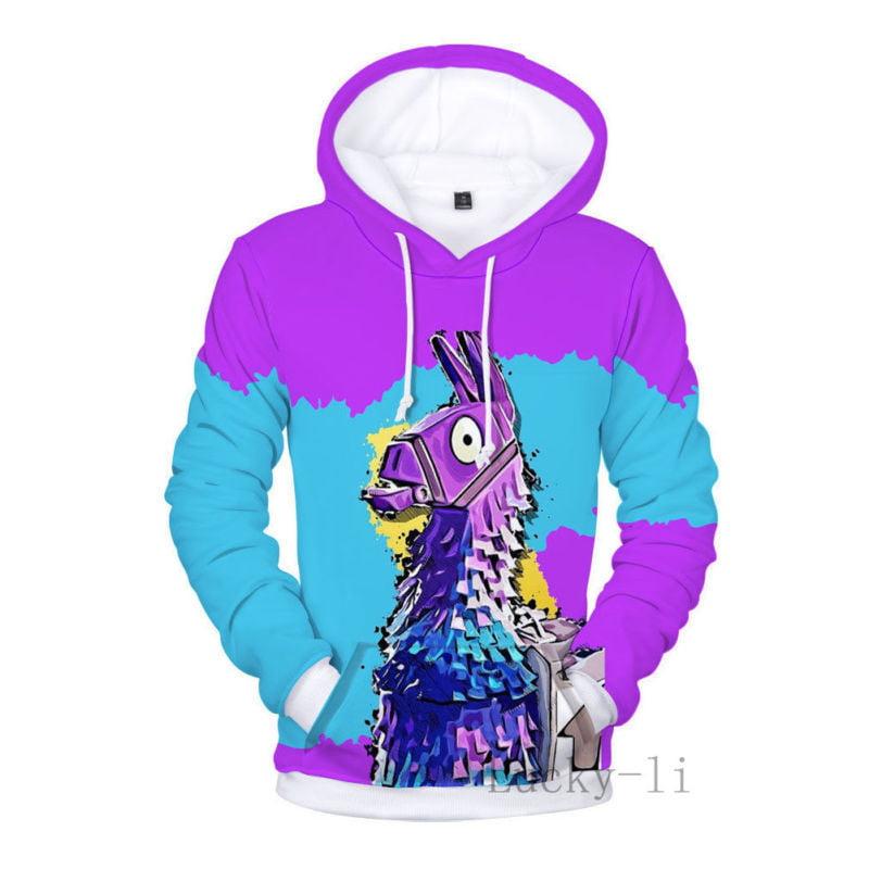General Fortnite Fashion 3D Print Hoodie Jacket Warm