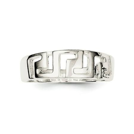 Roy Rose Jewelry Sterling Silver Greek Key -