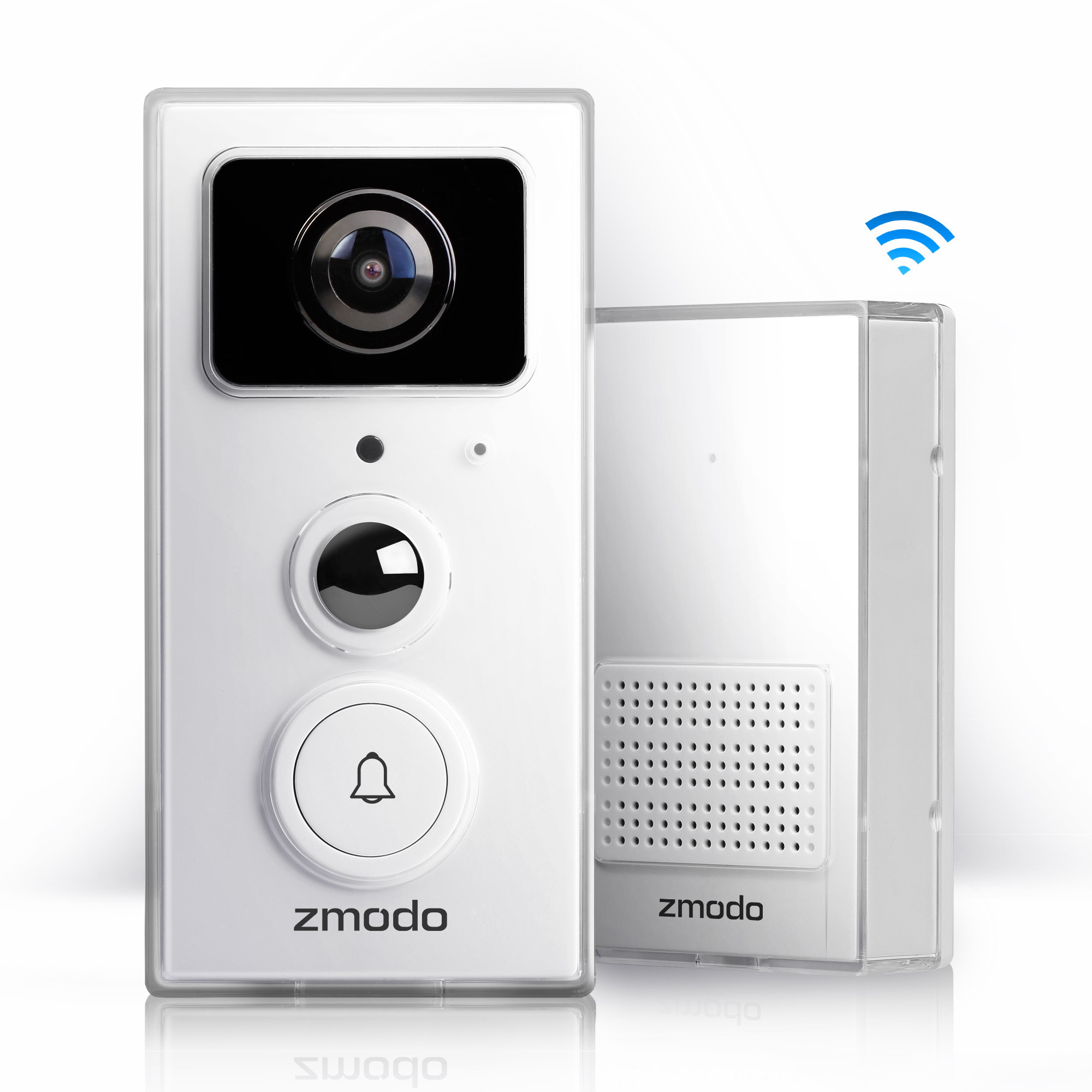 Zmodo Greet Universal Smart Video Doorbell/Door Chime with 1080p Full HD WiFi Night Vision Camera