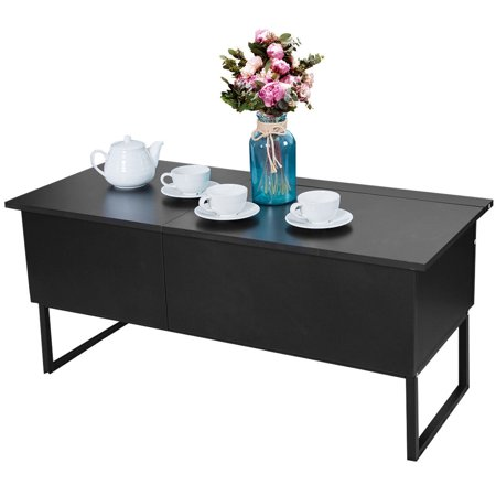 Coffee Table Lift Top Home Living Room Wood Storage Furniture Hidden