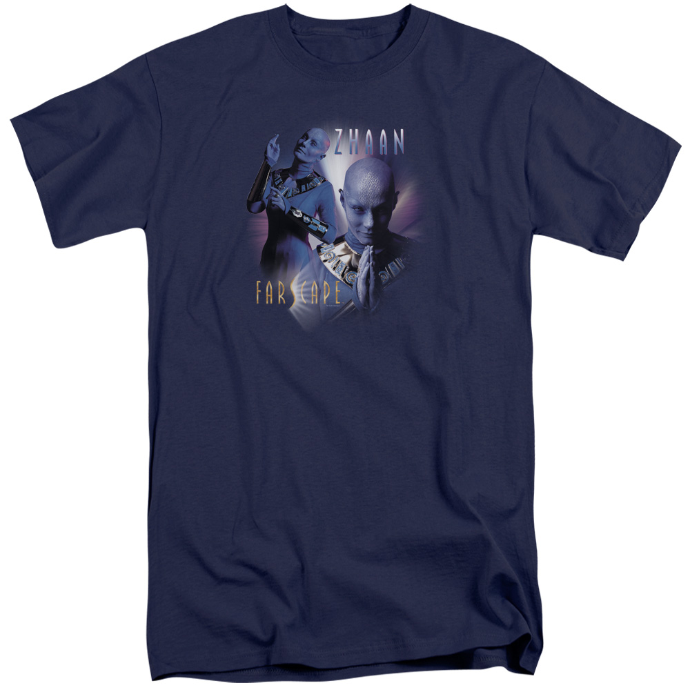Farscape Zhaan Mens Big and Tall Shirt