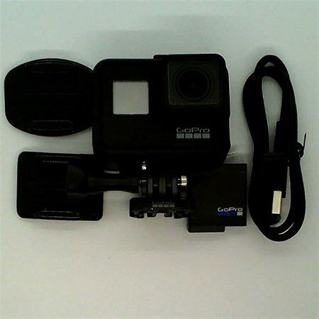Refurbished GoPro HERO7 Black ? Waterproof Digital Action Camera with Touch Screen 4K HD Video 12MP Photos Live Streaming?Stabilization (Waterproof Digital Camera Gopro)