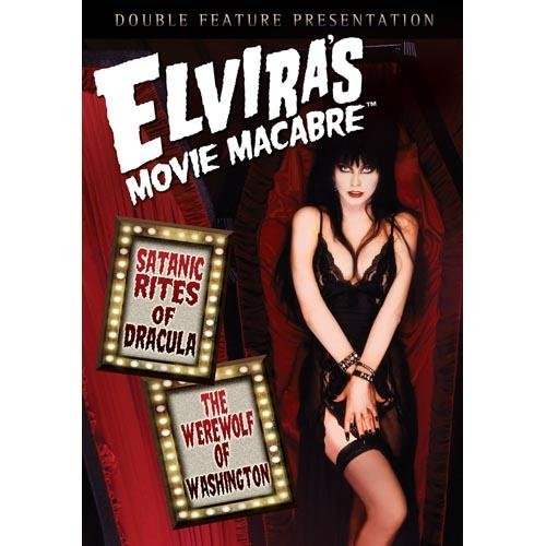 Elvira's Movie Macabre: The Satanic Rites Of Dracula / Werewolf Of Washington (Full Frame)
