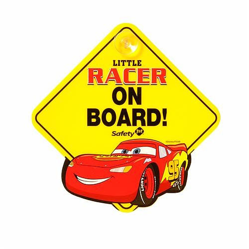 Disney CARSII Little Racer On Board Sign