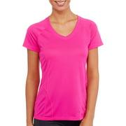 Women's Active Performance Short Sleeve V-Neck T-Shirt