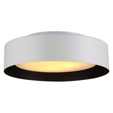 Legacy Ceiling Flush - Lynch Black & Gold Flush Mount Ceiling Light