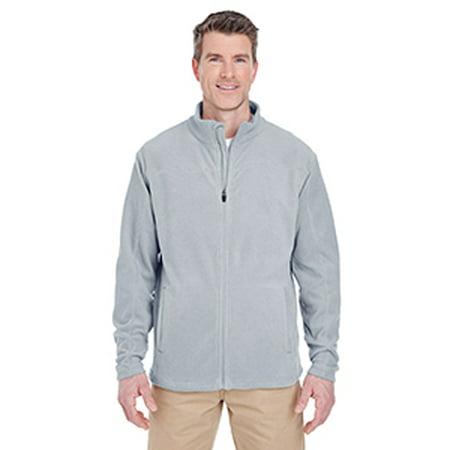 8185 Uc Mens Full Zip Microfleece Silver 2Xl - image 1 de 1