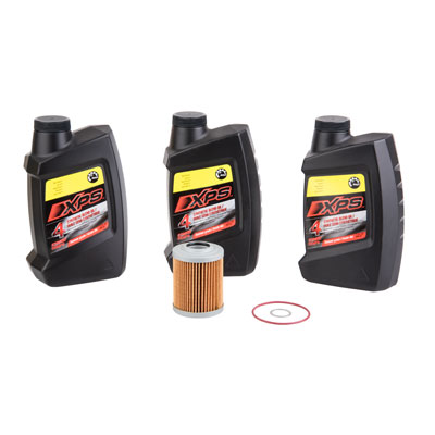 Oil Change Kit With Can-Am XPS Synthetic Summer For Can-Am