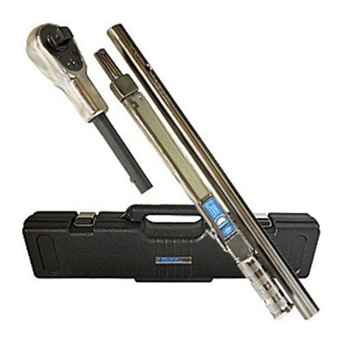 Precision Instruments 3/4 in. Drive 200 - 600 ft-lbs. Split-Beam Click-Type Torque Wrench with Detachable Head C4D600F