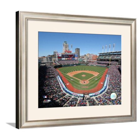 Jacobs Field Framed Photographic Print Wall Art  - -