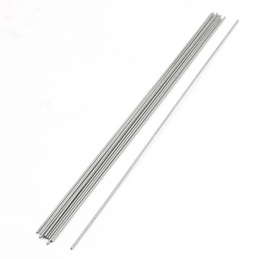 Unique Bargains 10 Pcs HSS High Speed Steel Round Turning Lathe Bars 0.6mm x 100mm by Unique-Bargains