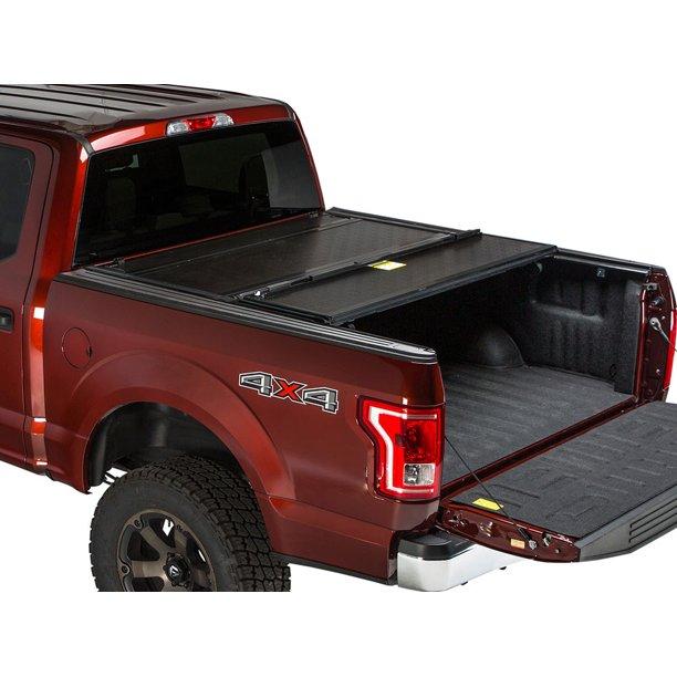 Gator Fx Hard Folding Tonneau Truck Bed Cover 2014 2018 Chevy Silverado Gmc Sierra 5 8 Ft Bed Walmart Com Walmart Com