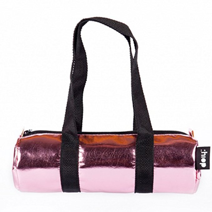 Duffle Bag Glossy Pink, Pencil Case by