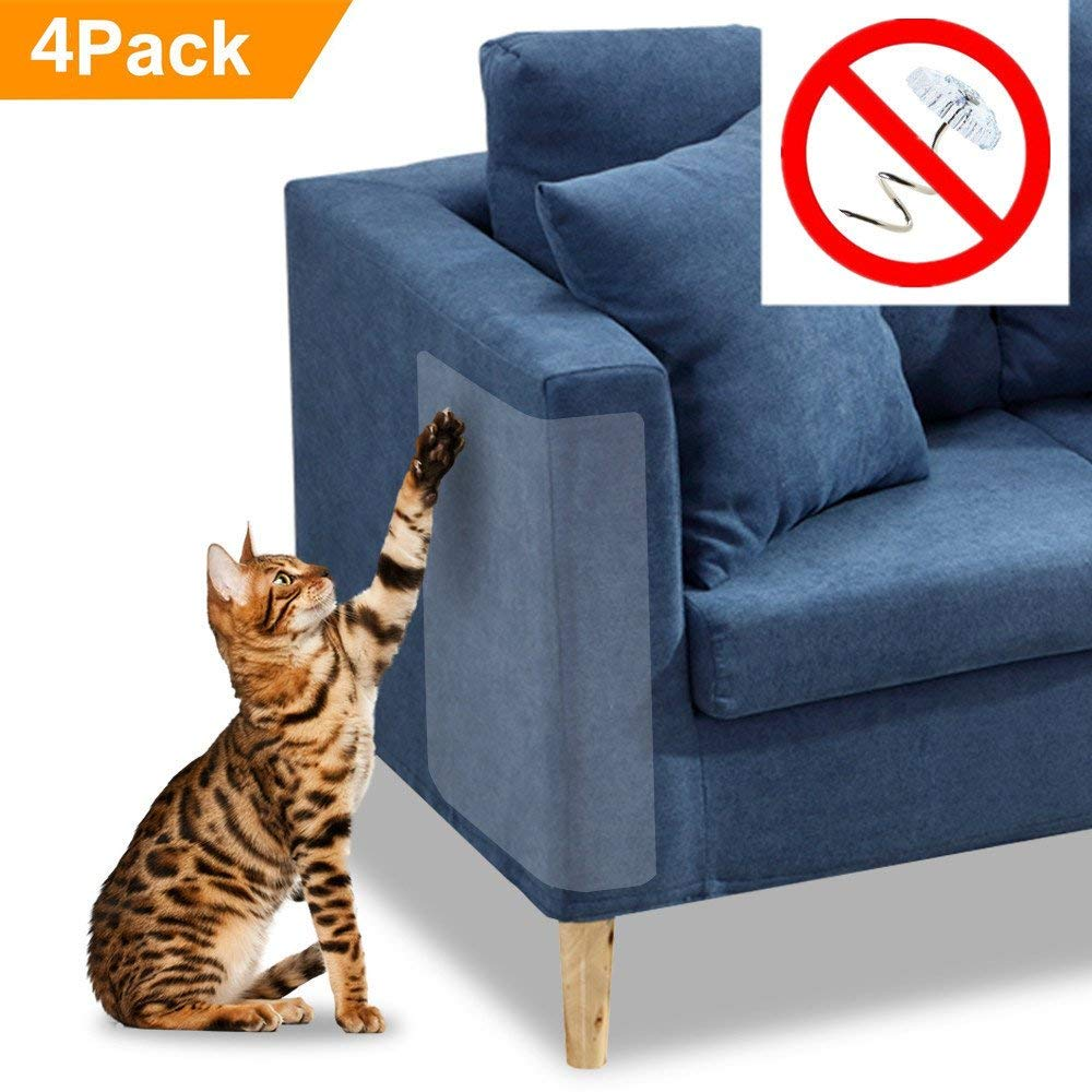 4pcs Cat Scratch Furniture Clear Premium Heavy Duty