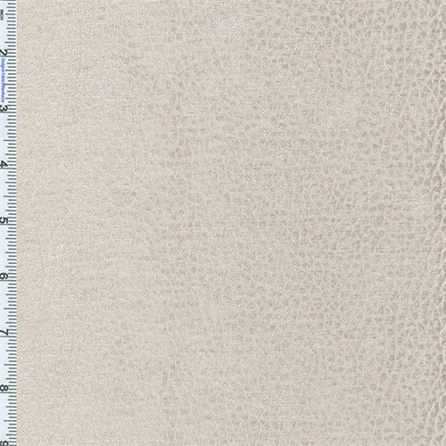 Parchment Ivory Komodo Reptile Faux Velvet Decorating Fabric, Fabric By the Yard