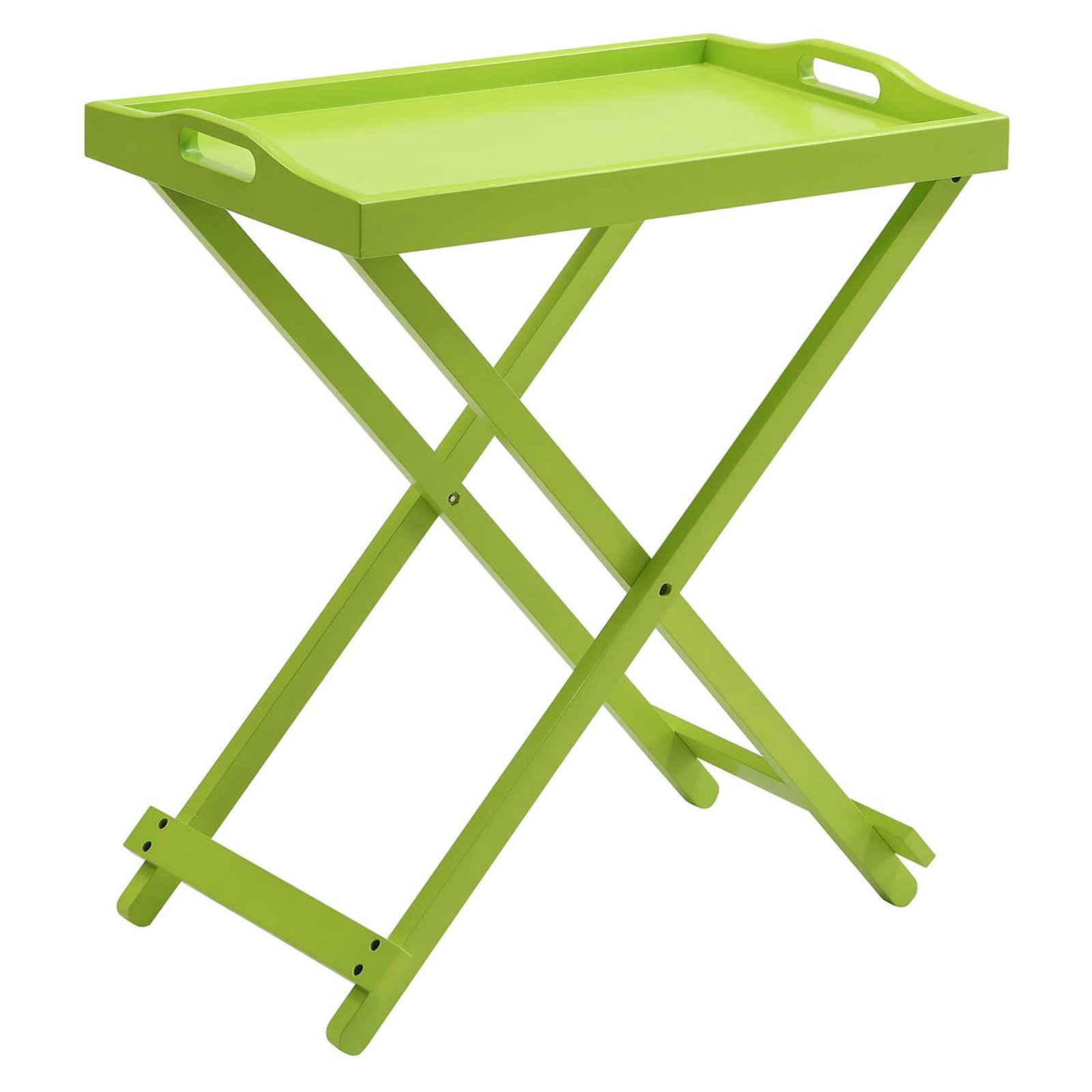 Convenience Concepts Designs2Go Folding Tray Table, Multiple Colors