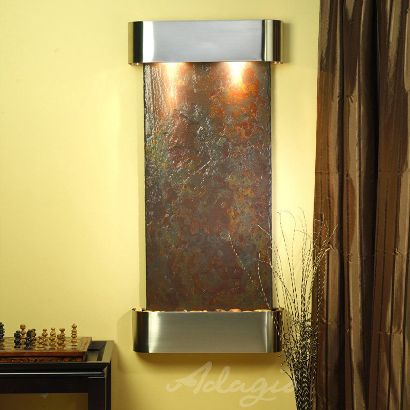 Cascade Springs Wall Fountain - Copper