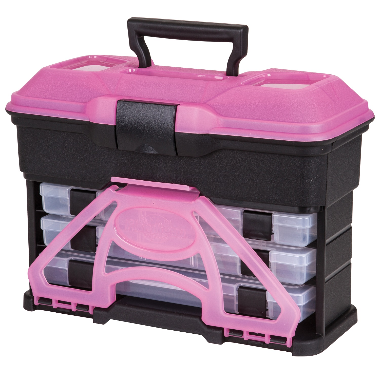 Flambeau T3 Frost Series Mini Front Loader Tackle Box by Flambeau
