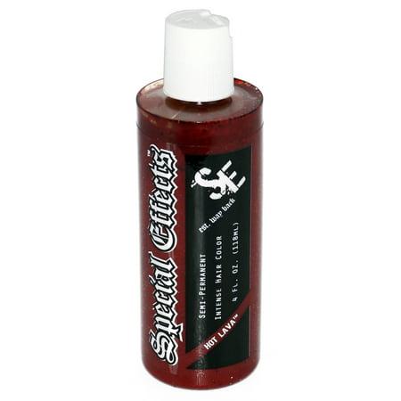 Secial Effects Semi-Permanent Vegan Hair Dye Color 4 Oz  W/ Free