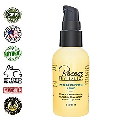 acne scar fading three in one retinol serum vitamin c serum and vitamin b3 serum - 60ml (The Best Serum For Acne Scars)