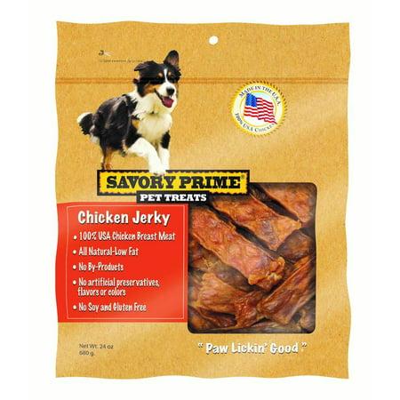 Usa Natural - Savory Prime USA Natural Chicken Jerky 24 oz.