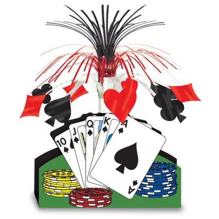 The Party Aisle Casino Playing Card - Casino Centerpiece Ideas