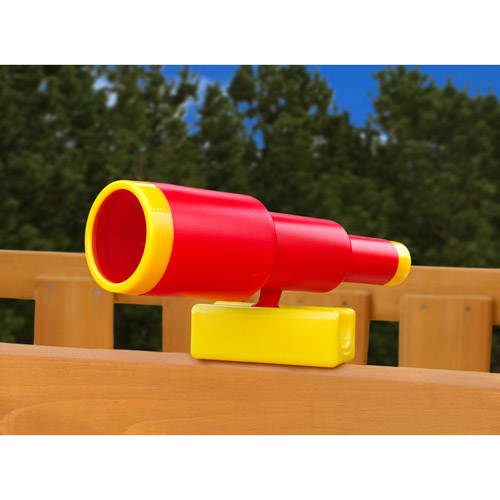 Gorilla Playsets Looney Telescope, Red by Gorilla Playsets
