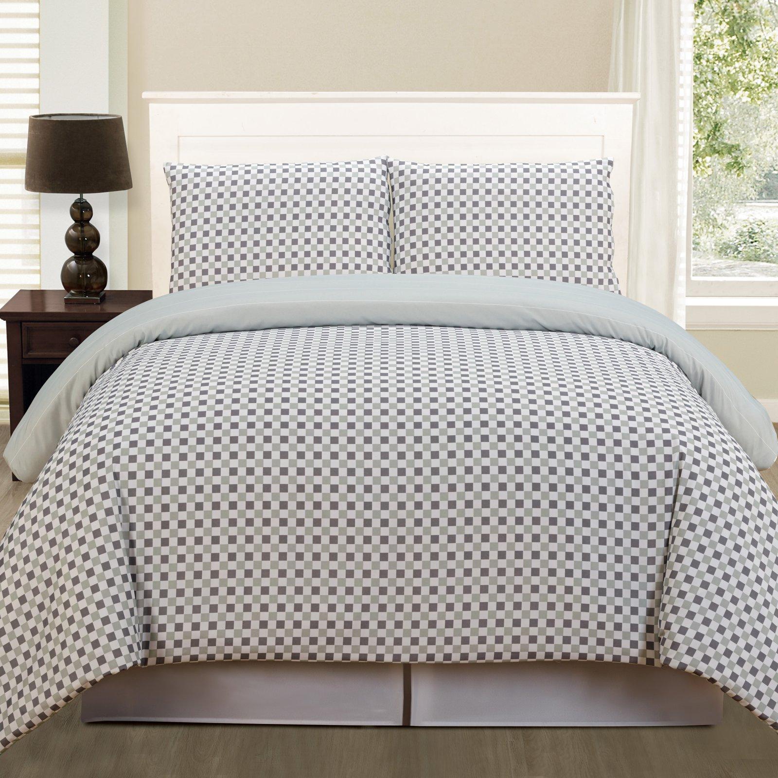 Luna Lala+bash 2 Piece Twin Comforter Set in Grey