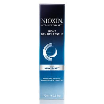 Intensive Hair Repair Therapy (Nioxin - Intensive Therapy Night Density Rescue 2.4 oz )