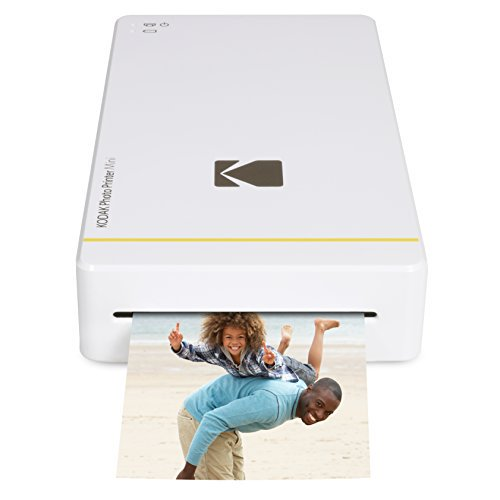 Kodak Mini Portable Mobile Instant Photo Printer - Wi-Fi & NFC Compatible -  Wirelessly Prints 2 1 x 3 4