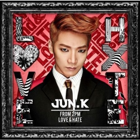 Jun  K   Love   Hate  Cd