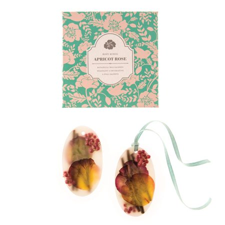 Rosy Rings Fruity Apricot & Rose Wax Sachets Set of 2