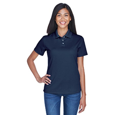 8445L Uc Lad Stain Release Perf Polo Navy 3Xl - image 1 of 1