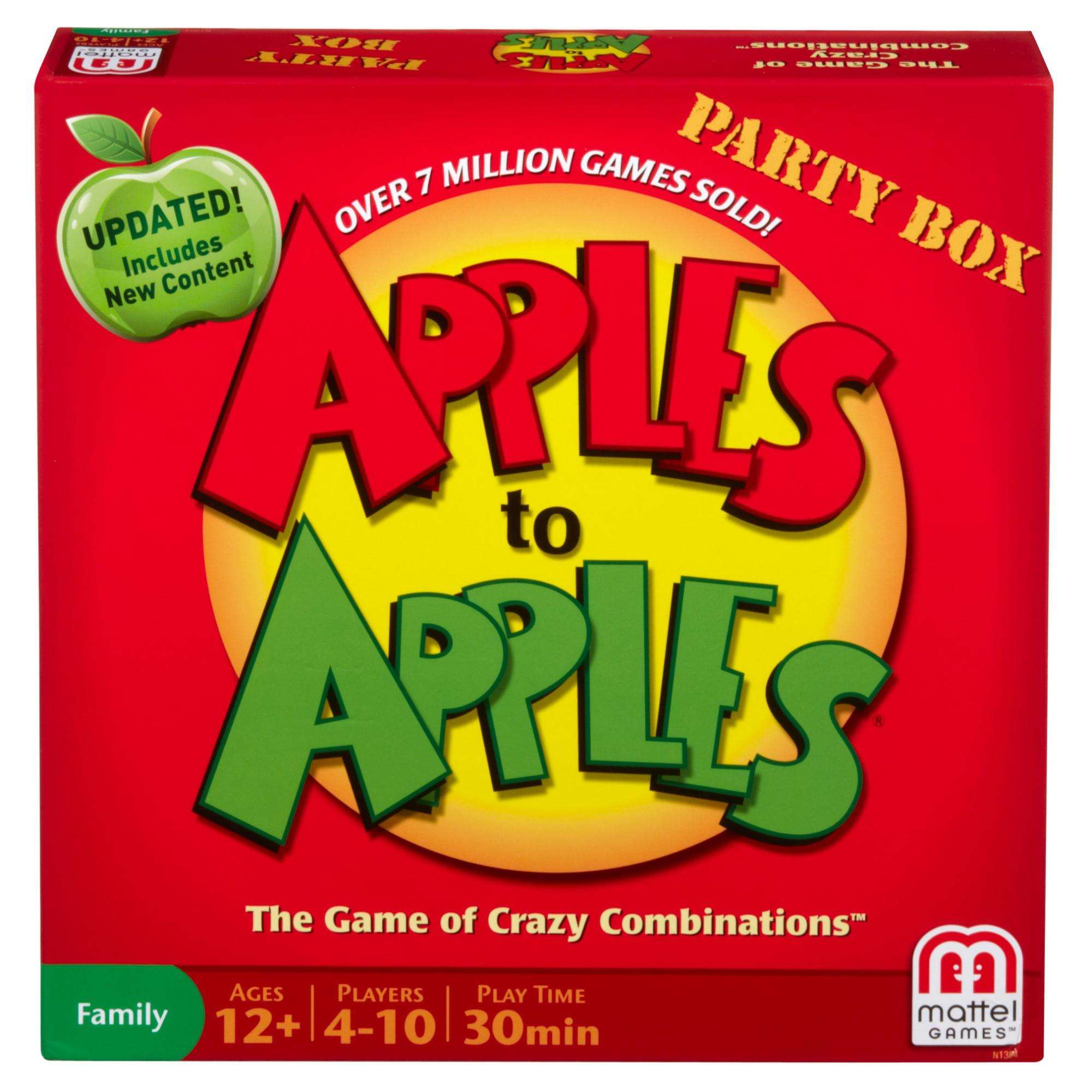 Apple to Apples Party Box by Mattel
