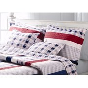 Global Trends Nautical Stripe Quilted Pillow Sham