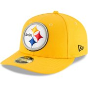 Pittsburgh Steelers New Era Omaha Low Profile 59FIFTY Fitted Hat - Gold