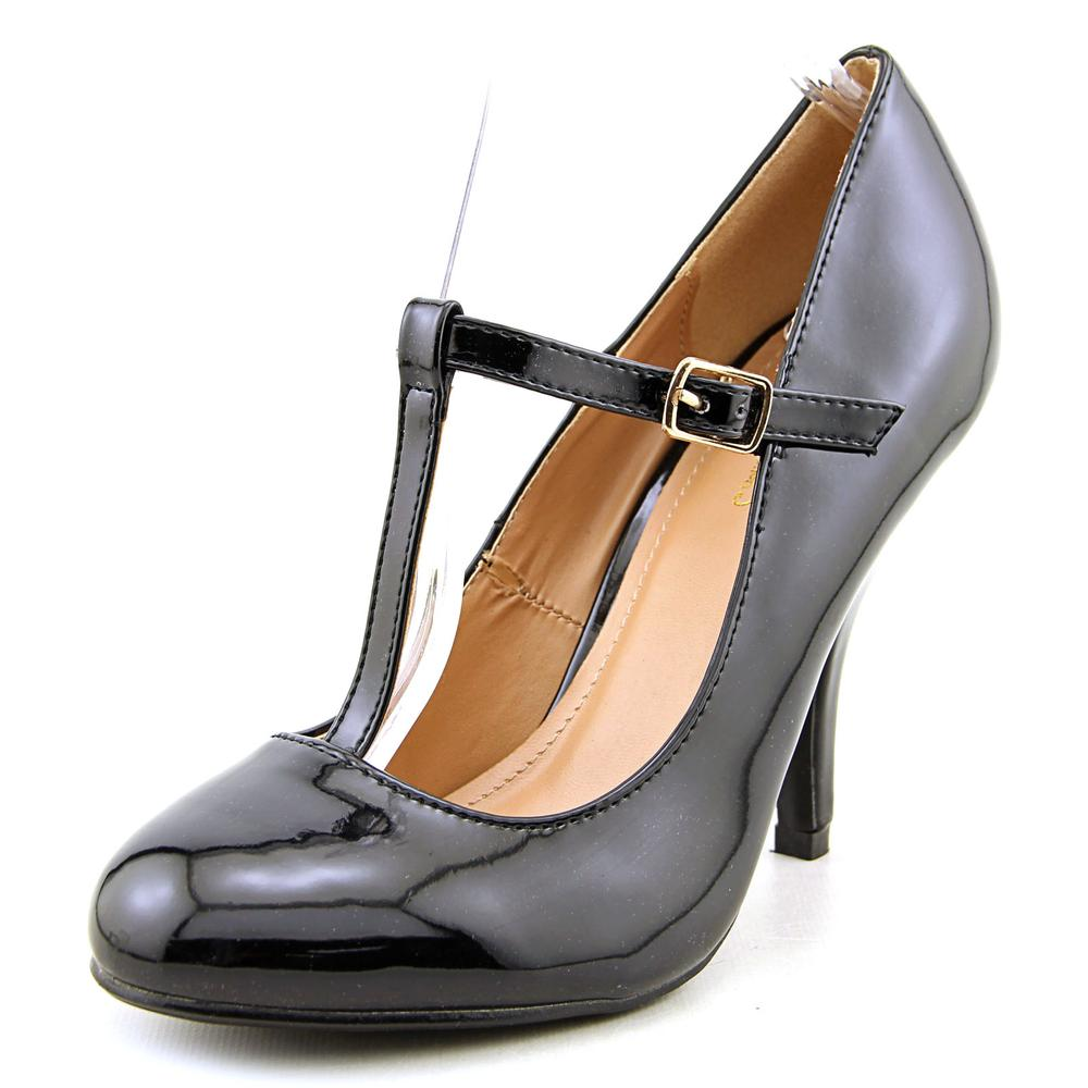 Journee Collection Lessah Women  Round Toe Synthetic  Heels